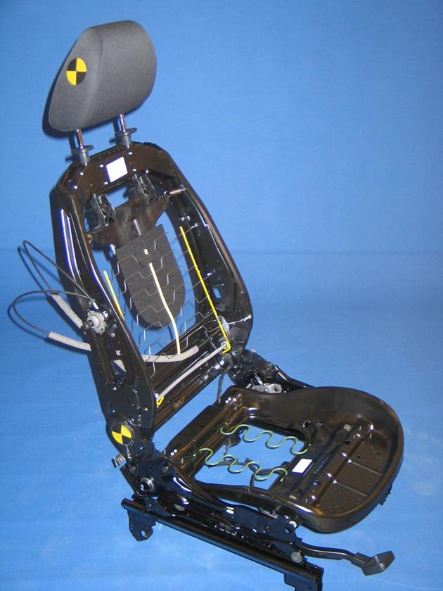 Meccanismo di un sedile d'auto
