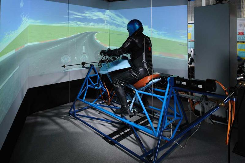 The Safebike Motorcycle Riding Simulator Multibody Net