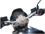 Quantitative assessment of manoeuvrability for a 750 cc street motorcycle